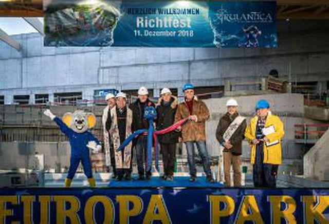 Abb. Europa-Park baut mega Wasserwelt und nächstes Hotel
