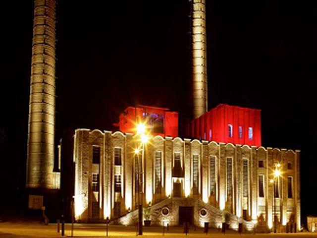 Abb. Eindrucksvolles Industriegebäude der Jahrhundertwende