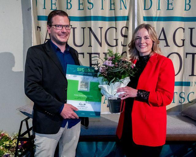 Abb. Beste deutsche Tagungshotels im Corona-Jahr gekürt