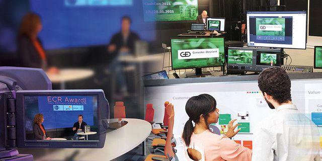"""Abb. Räume und """"Platz"""" für digitale Zusammenarbeit"""