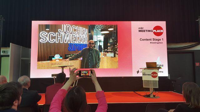 Abb. Jochen Schweizer mit MICE Achievement Award ausgezeichnet