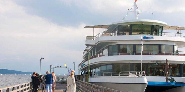 Abb. Tagungsevent auf dem Starnberger See