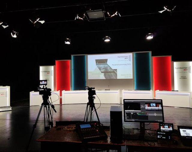 Abb. Stadthalle goes digital